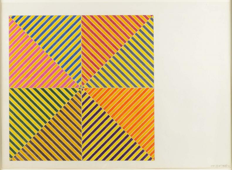 Frank Stella, Sidi Ifni, Lithograph