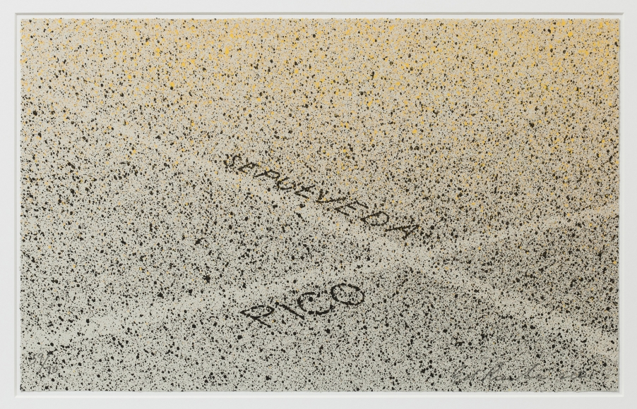 Ed Ruscha, Pico and Sepulveda, Screenprint