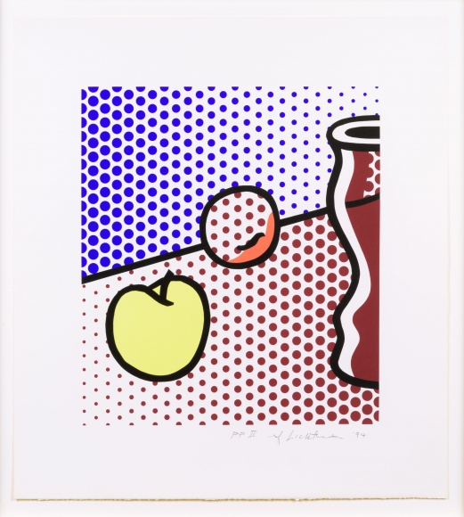 Roy Lichtenstein, Still Life with Red Jar, Screenprint