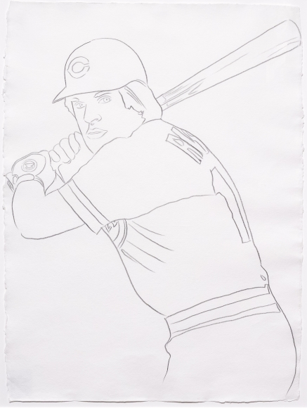 Andy Warhol, Reds - Pete Rose I, Drawing
