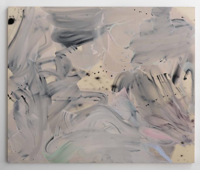 Ed Moses, Woggel #3, Acrylic on canvas