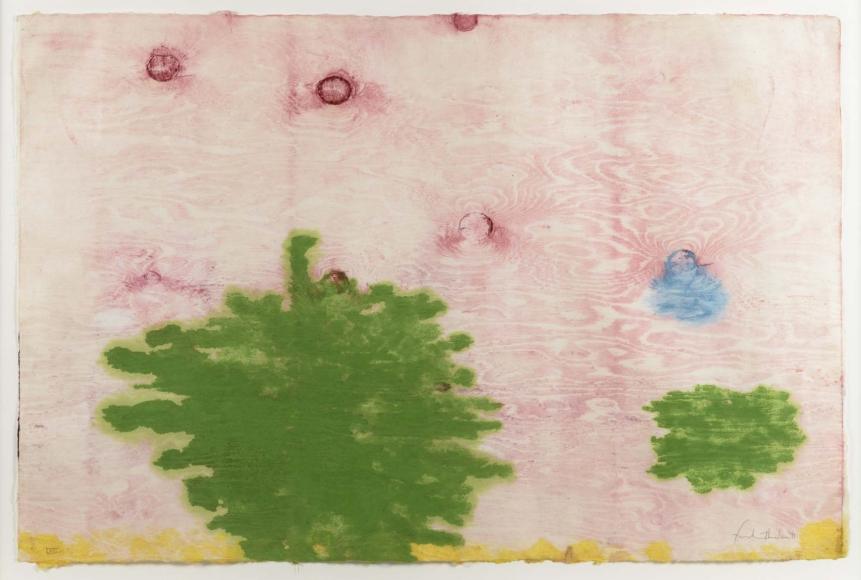 Helen Frankenthaler, Monotype XVIII, Monotype