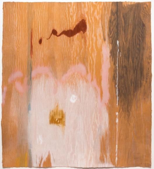 Helen Frankenthaler, Tales of Genji VI, Woodcut