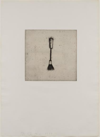 Jim Dine, Four German Brushes