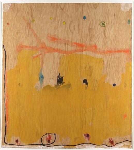 Helen Frankenthaler, Tales of Genji II, Woodcut