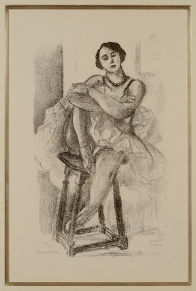 Henri Matisse, Danseuse au Tabouret, Lithograph