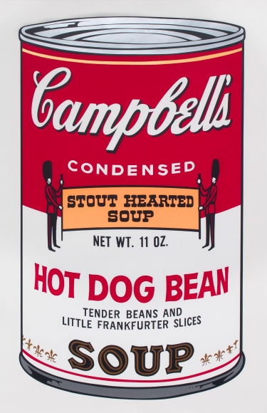 Andy Warhol, Hot Dog Bean, from Campbell's Soup II, Screenprint