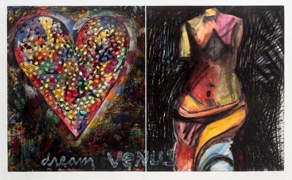 Jim Dine, Dream Venus, Etching