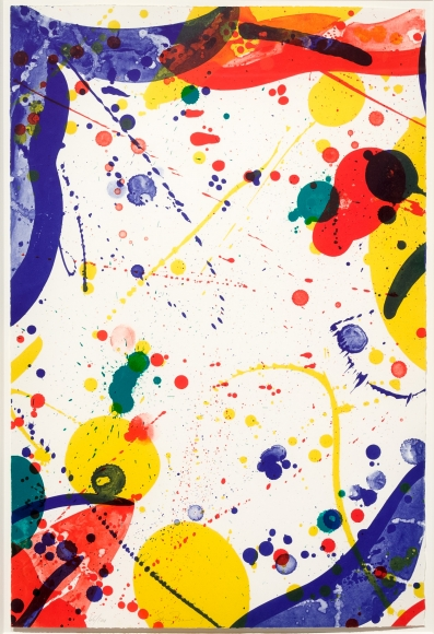 Sam Francis, Untitled, Lithograph
