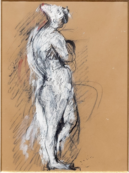 Marino Marini, Nudo, drawing