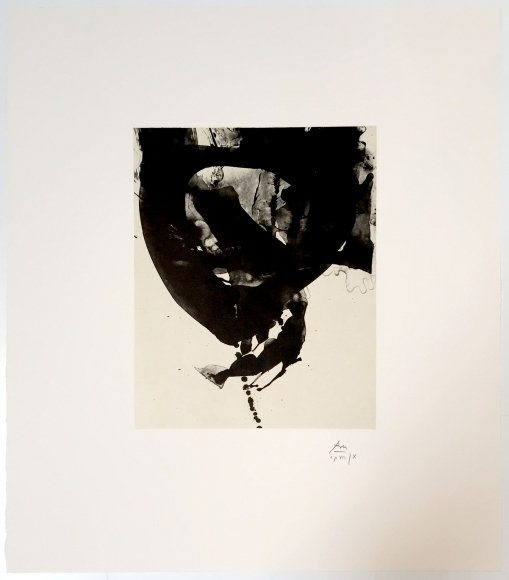 Robert Motherwell, Octavio Paz Suite, Lithograph