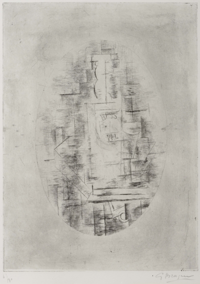 Georges Braque, Pal, Etching