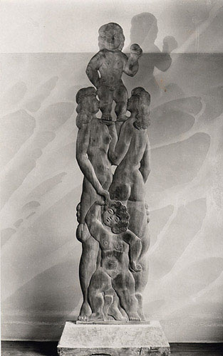 Offspring, 1930, The Renee & Chaim Gross Foundation