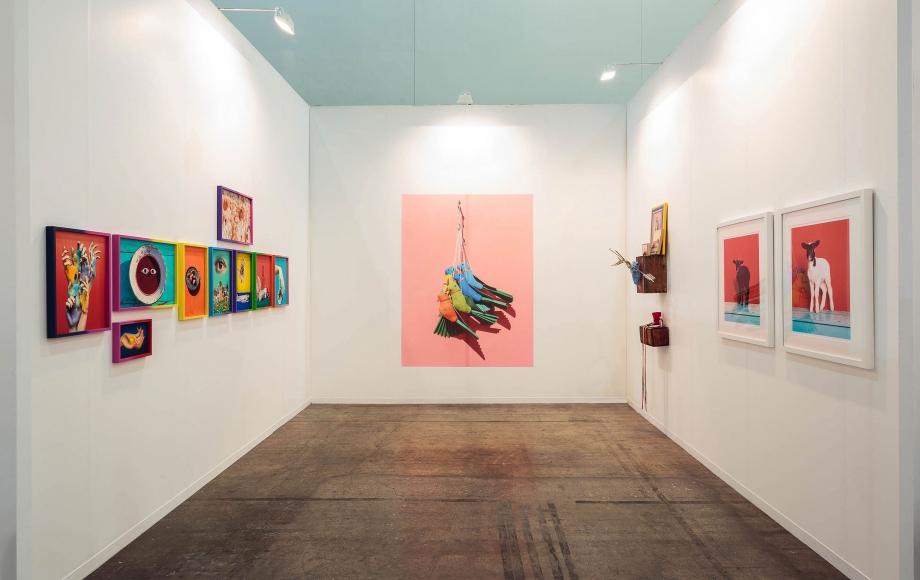Zona MACO 2016 (installation view), Centro Banamex, Mexico City, February 3 - 7, 2016