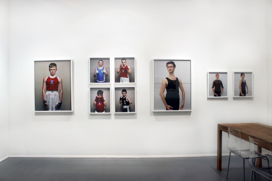 Amy Elkins & Jona Frank: In Position (installation view), January 24 - February 28, 2015