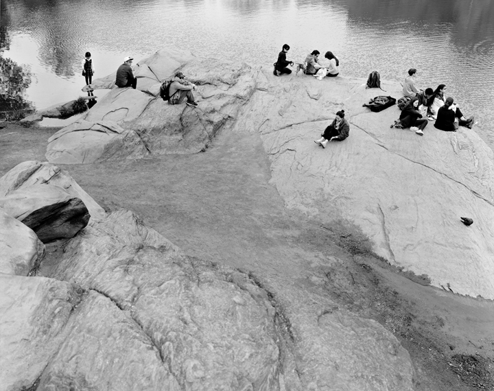 The Hernshead, Central Park 2014, Gelatin silver print, 68 x 54 inches, Edition of 6