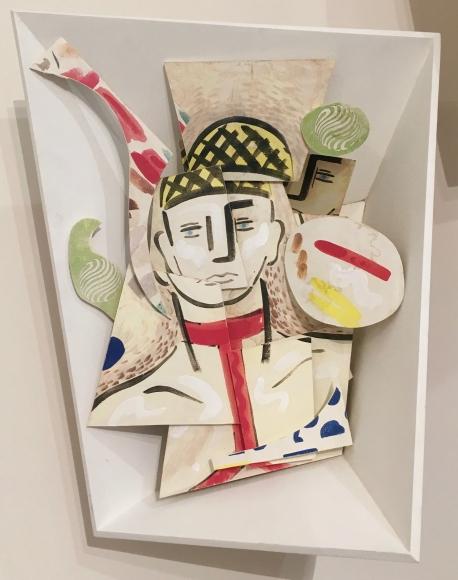 Sculptural Diptych, No. 1