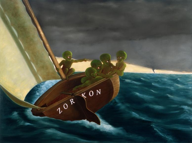 Zorkon - exhibition