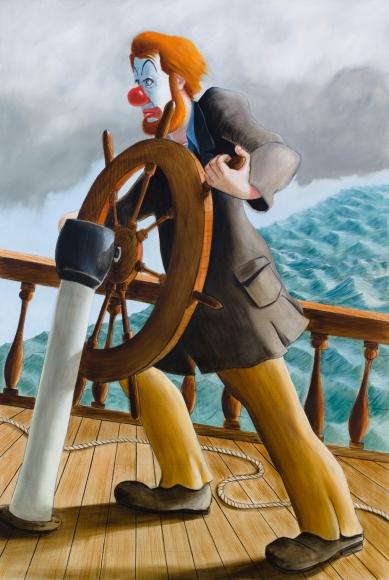 Around the World Alone (Push on Able Seaman Push On)