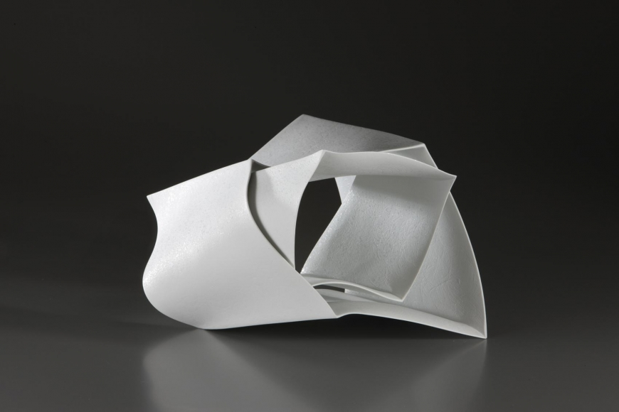 Nagae Shigekazu, Forms in Succession #21, 2010, Japanese modern, contemporary, ceramics, sculpture
