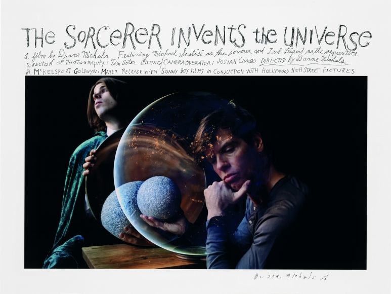The Sorcerer Invents the Universe