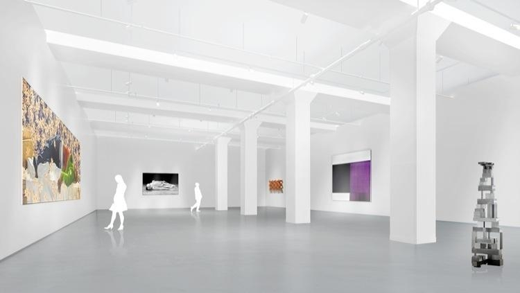 D Rendering Exhibition : Tenth ave exhibitions sean kelly gallery