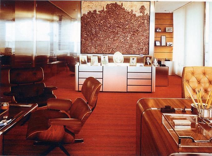 Elie De Rothschildu0027s Office, Rothschild Bank.