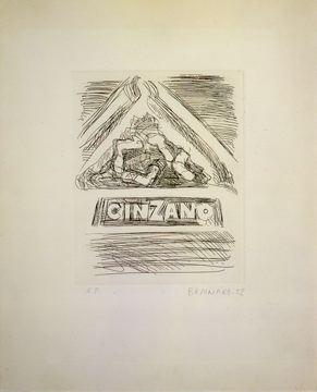 Joe Brainard Cinzano, 1972