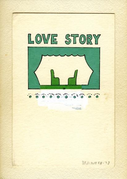 Joe Brainard Untitled (Love Story), 1975