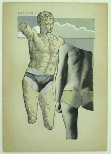 Joe Brainard Untitled (Greek Bathers), 1978