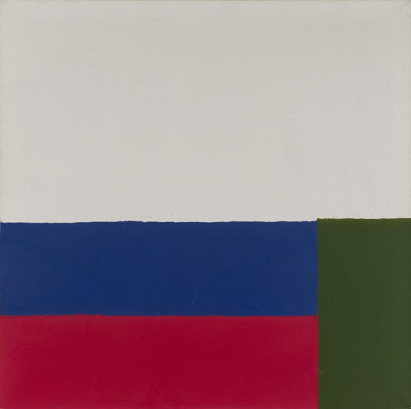 James Bishop: Untitled (#3), 1965
