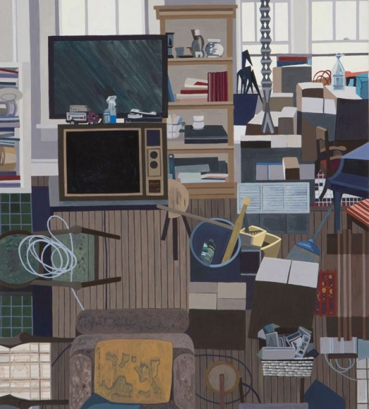 Ann Toebbe John's Two TVs, 2016
