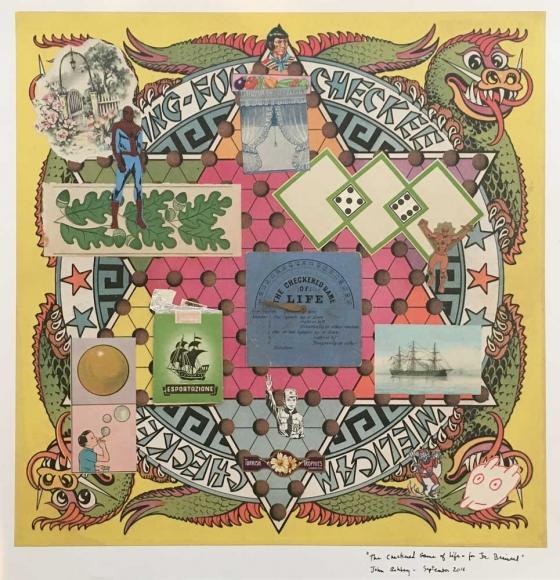 John Ashbery The Checkered Game of Life – for Joe Brainard, 2016