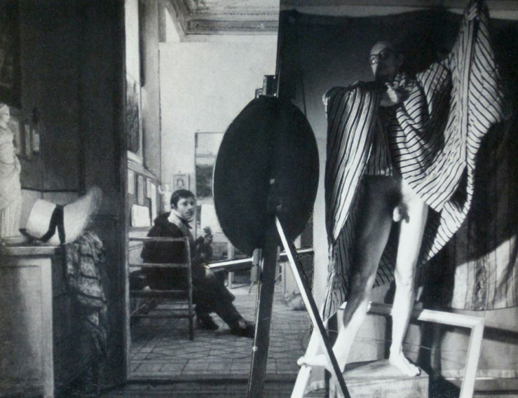 John O'Reilly Two Models In The Studio, 1985