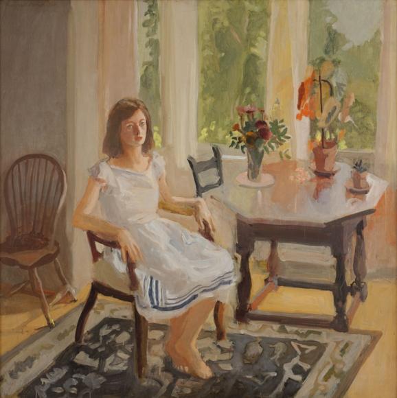 Fairfield Porter, Claire White, 1960