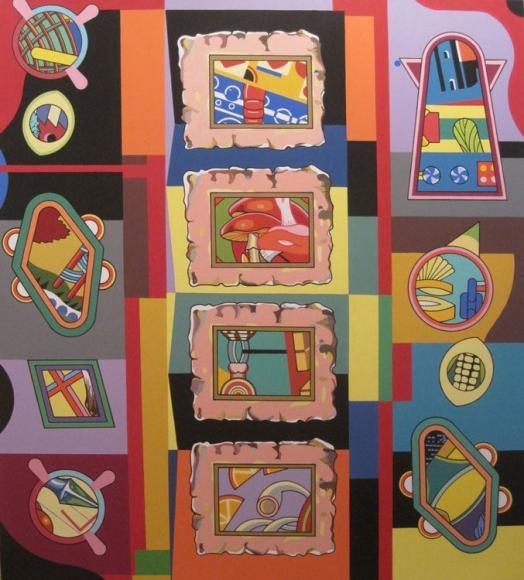 Trevor Winkfield The Gallery, 2012