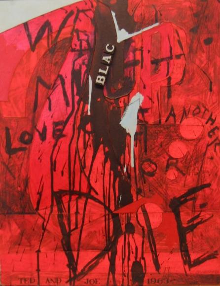 Joe Brainard & Ted Berrigan We Must Love One Another or Die, 1963