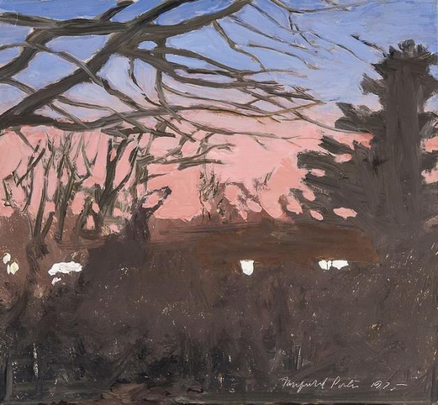Fairfield Porter, Twilight, 1975