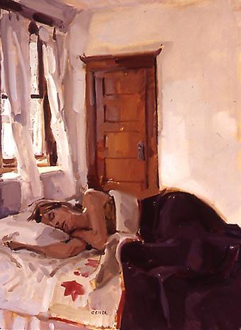 Philip Geiger Artists The Tibor De Nagy Gallery