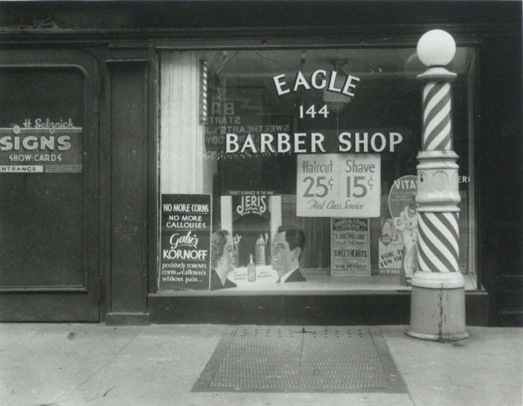 Rudy Burckhardt Haircut Shave, ca. 1939