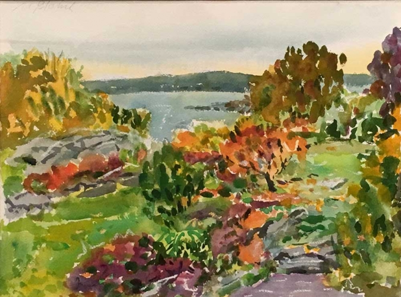 Nell Blaine Touch of Fall, 1994