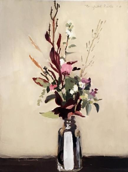 Fairfield Porter, Flowers in Salt Shaker, 1966