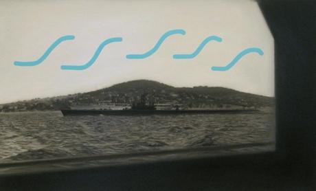 Jen Mazza Denizalti ve Savarona, No. 1 (submarine with S marks), 2015