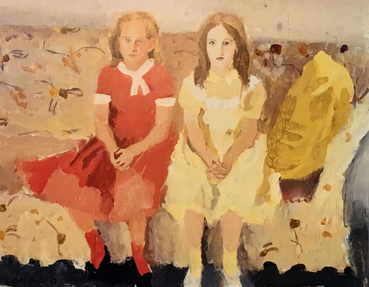 Fairfield Porter Katie and Dorothy E., 1957
