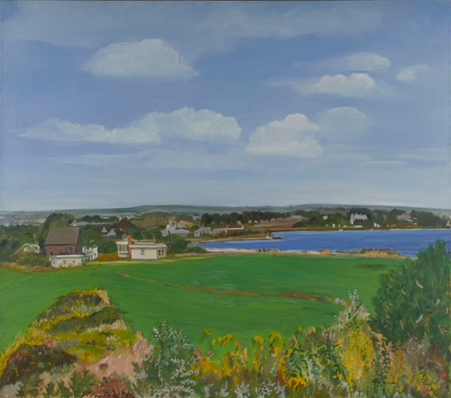 Jane Freilicher September Landscape, 1973