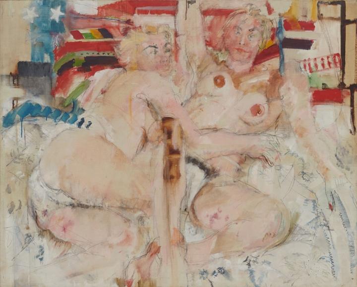 Double Nude, 1957