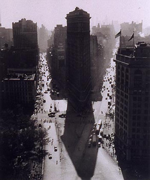 Rudy Burckhardt Flat Iron Building Summer, 1947