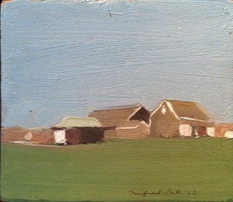 Fairfield Porter, Farmscape, 1966