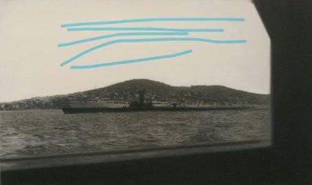 Jen Mazza Denizalti ve Savarona, No. 2 (submarine with lines), 2015