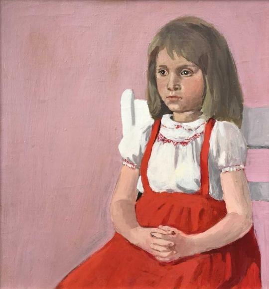 Fairfield Porter, Elizabeth, c. 1964